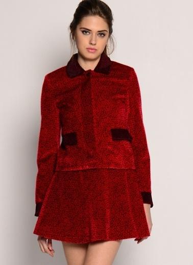 Sister Jane Ceket Kırmızı